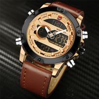 Watches Men NAVIFORCE Brand New Man Sport Watch Men's Quartz Clock Male Casual Military Waterproof Wristwatch Relogio Masculino