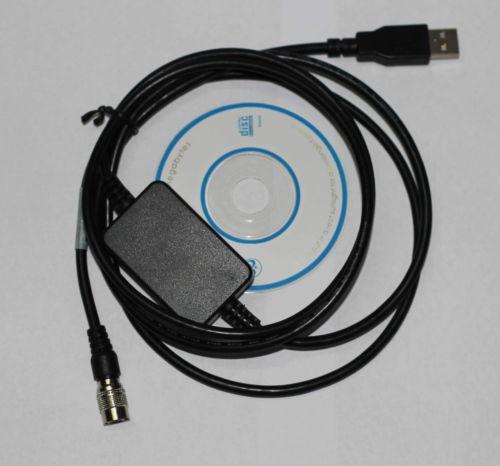Brand New USB Baixar Cabo de Dados para TOPCON/SOKKIA/Estação Total Sul