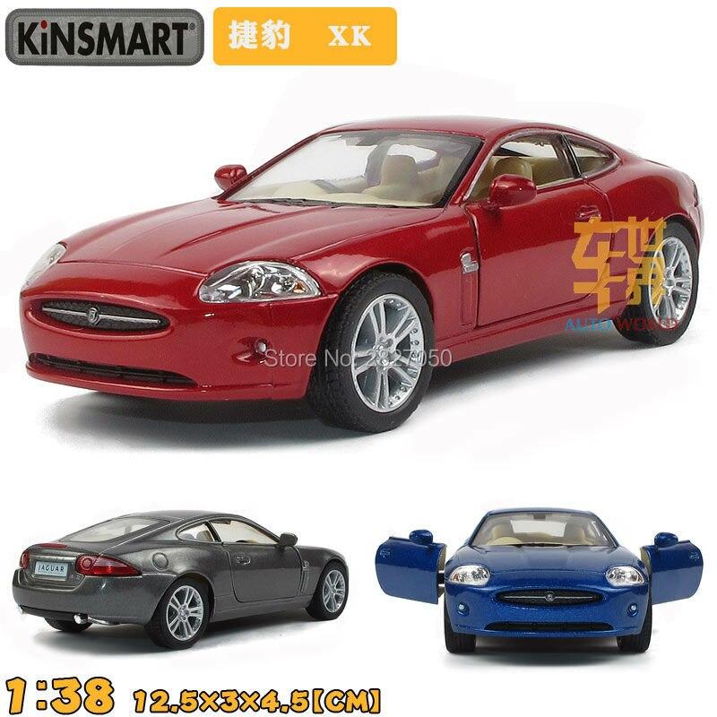 Kinsmart Jaguar XK Coupe 1:38 5Inch Diecast Metal Alloy Cars Toy Pull Back Car Gift For Kids