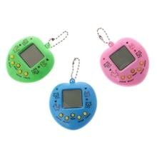 Machine de jeu électronique pour animaux de compagnie Tamagochi apprenant des jouets éducatifs avec chaîne