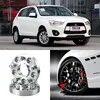 Adaptateurs d'entretoises de roues 1 5 écrous 5x4.5/5x2011. 3-12x1.5 goujons pour Mitsubishi ASX +