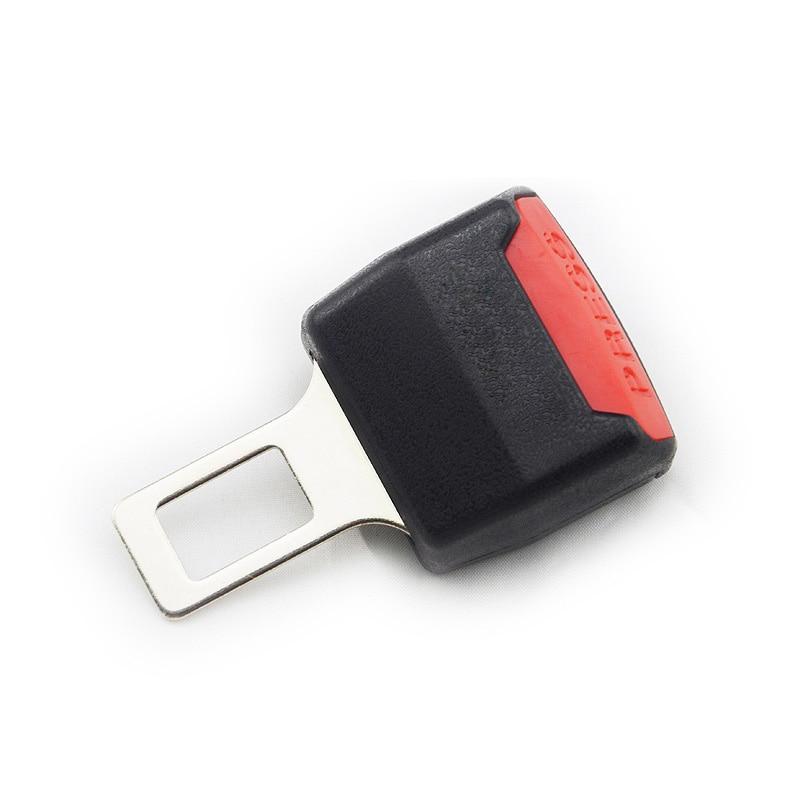 2 pçs segurança do carro ajustável cinto de segurança clipe extensor para hyundai solaris accent i30 ix35 i20 elantra santa fe tucson getz