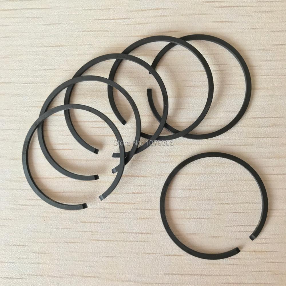 6 шт. кусторез поршневое кольцо 36 мм * 1,5 мм подходит для CG360 BC360 33CC замена поршневых деталей цилиндра