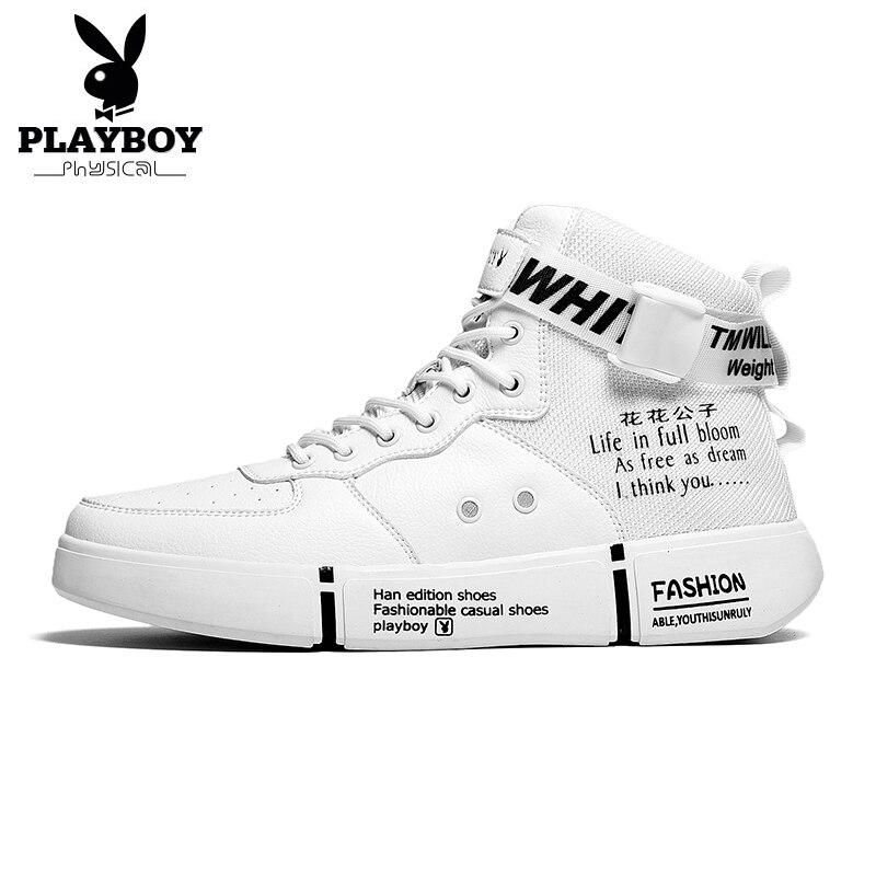 PLAYBOY/Новая Комфортная Повседневная обувь для мужчин; Обувь из искусственной кожи высокого качества; Комфортная обувь; Модная обувь на плоской подошве; Водонепроницаемые мокасины на шнурках