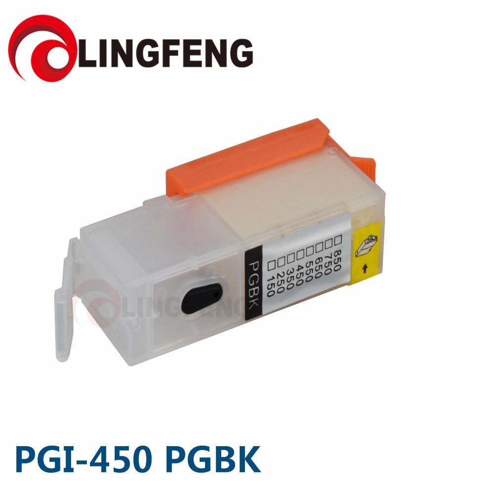 PGI-450 PGI450 многоразовый картридж для Canon PIXMA IP7240 MG5440 MG5540 MG6440 MG6640 MG5640 MX924 MX724 IX6840 принтер