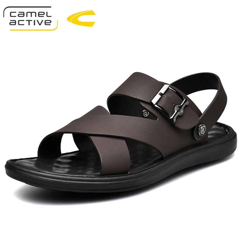 الجمل نشط 2019 جديد الصيف الصنادل الرجال رياضية النعال حذاء كاجوال الشاطئ في الهواء الطلق تنفس Sandalias الأزياء حذاء رجالي