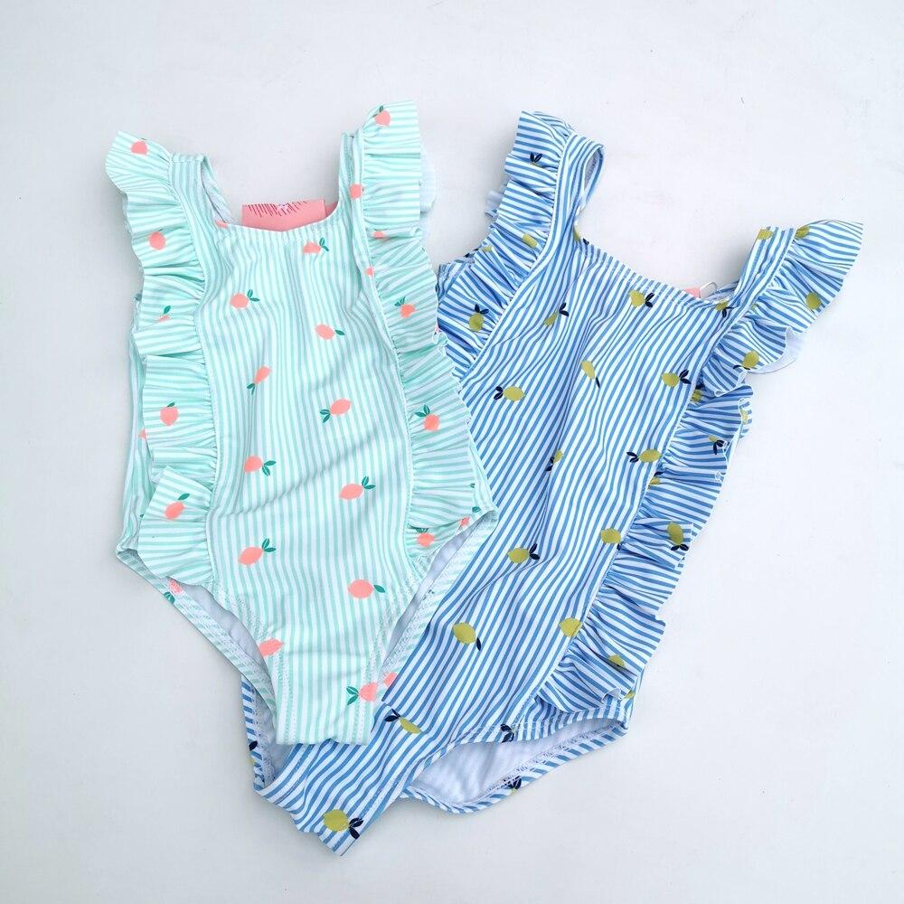 Chumhey 1-3 t bebê meninas maiô infantil bebe um pedaço banho terno crianças verão maiô bebês terno de natação