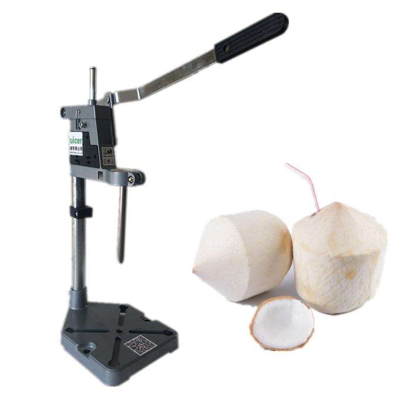 Thailand easy open coconut machine hand press coconut opening machine