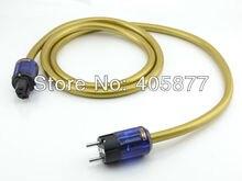 Hi end audio audio Hexlink Golden 5-C Schuko câble dalimentation avec P037E + C037 fiche dalimentation câble dalimentation 1.5 M
