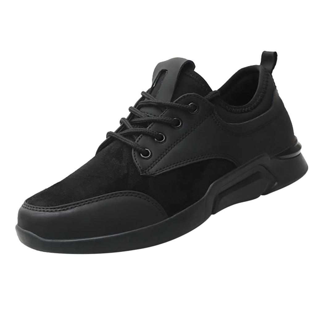 SAGACE 2020, nuevos zapatos deportivos informales para hombres, cómodos zapatos transpirables con panel de terciopelo, zapatos redondos de moda para la cabeza, zapatos deportivos de tendencia