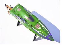 H625 PNP Spike Fiber de verre électrique course vitesse bateau profond Vee RC bateau W/3350KV moteur sans brosse/90A ESC/Servo vert TH02645