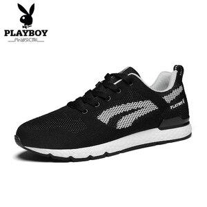 PLAYBOY Men Shoes Spring/Autumn Fashion Men Casual Shoes Breathable Male Sneakers Adult Non-slip Comfortable Men's Shoes DS85249