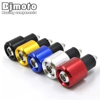 universal motorbike handlebar end plug slider motorcycle counterweight handlebar ends 78 handle bar cap cover
