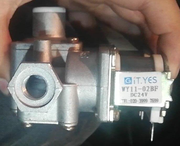 It. yes wy11-02bf geyou controle inteligente direto da fábrica gás rampa forno/forno/válvula regulador de forno dc24v