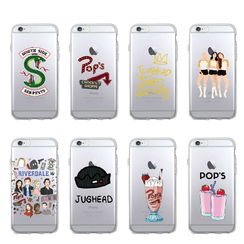 TV Riverdale Jughead Jones serpientes del Sur para iPhone 11 Pro Max 7 7Plus 6S 8Plus XS Max X cubierta de teléfono de TPU suave de la cubierta