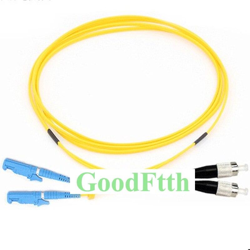 Puente de cable de fibra E2000/UPC-FC/UPC E2000-FC UPC SM dúplex GoodFtth 1-15 m