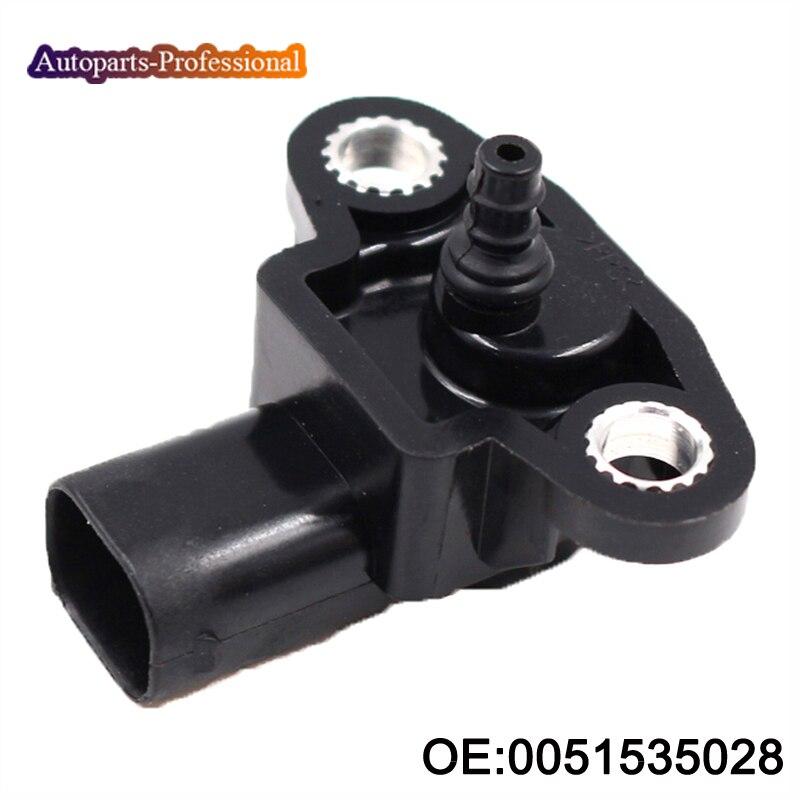 Sensor MAP 0051535028 Para MERCEDES W163 W164 W168 W169 W202 W203 W204 W210 W211 W212 W220 W221 W245 W251 W463 para Volkswagen