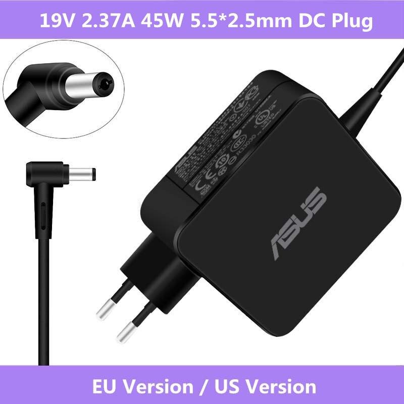 Asus 19V 2.37A 45W 5,5*2,5mm AC Адаптер зарядного устройства для Asus X401 X401A X401U X501 X501A X502C X502CA X550 X550L X550LA X550LB