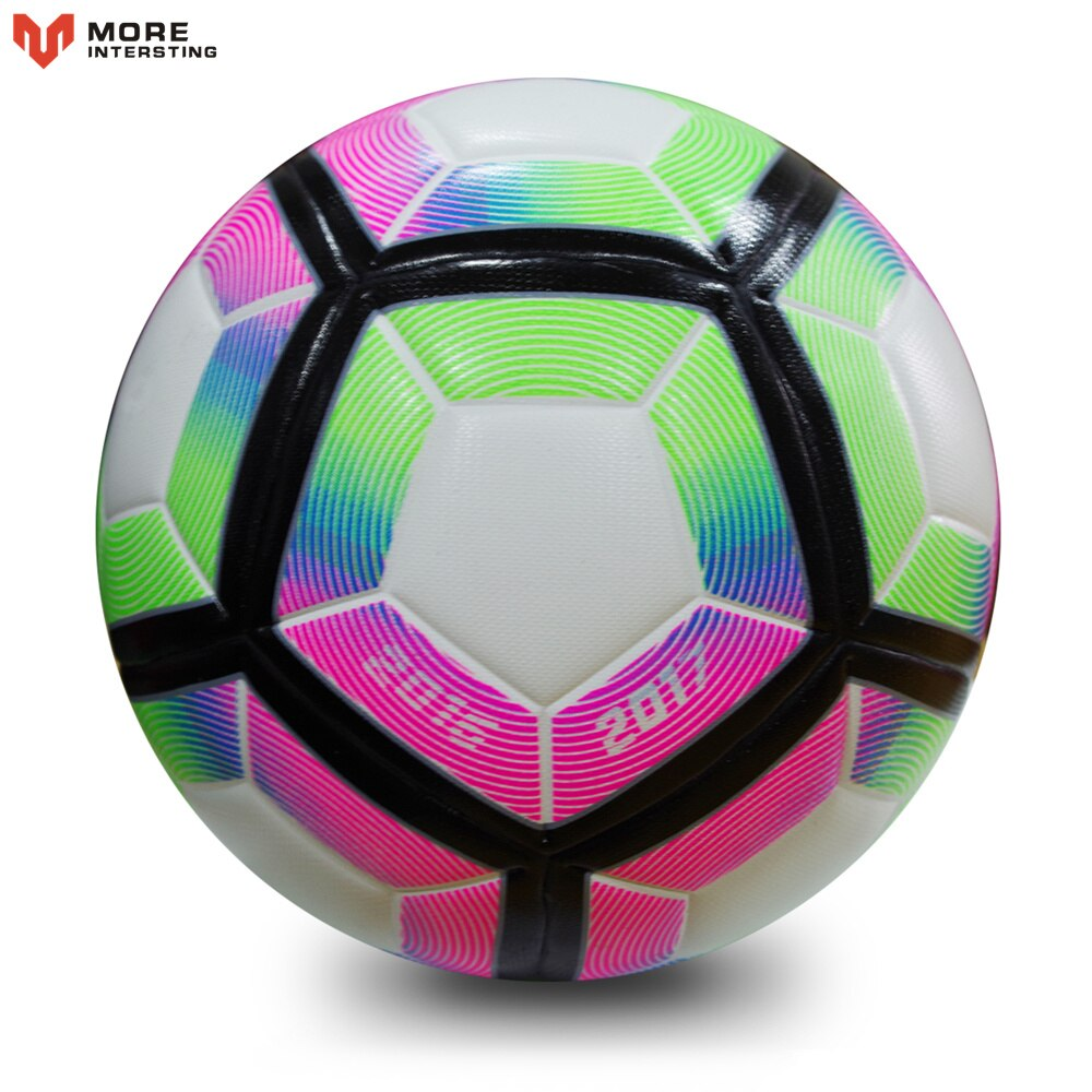 High Quality Soccer Ball 2019 Official Size 5 Football PU Slip-resistant Seamless Match Training  Equipment futbol