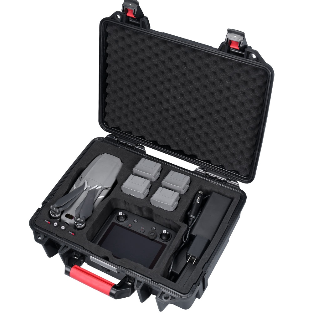 Smatree Carrying Case Rígido À Prova D Água para Mavic 2 Pro e Controlador Inteligente para DJI DJI DJI Mavic 2 Zoom ABS
