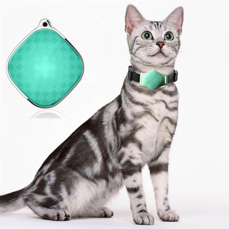 Купить с кэшбэком A9 Global Locator SOS GSM GPRS Real timeTracking GPS Tracker Waterproof GPS Collar For Pet Dog Cat