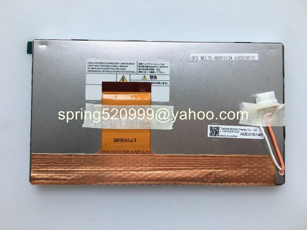 Original LCD Display LTA065B0F0F LT065AB3D300 LT065CA45300 6.5inch screen for Mercedes R series NTG2.5 Navigation Backer Comand