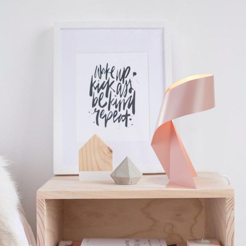 Pós moderna marca dragão contratado nordic design quarto sala de estar decoração mesa, lâmpada ferro forjado, led o estudo