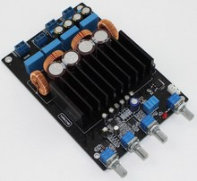Frss Trasporto Libero TAS5613 2.1 amplificatore di potenza digitale consiglio di Classe D 75W + 2*150W (4 Ohm ), al di là di TPA3116 LM1875