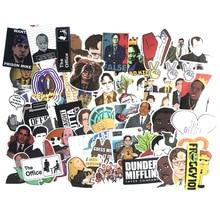62 Uds. Pegatinas de Graffiti Tv Show de oficina para maleta, Skateboard, portátil, equipaje, nevera, teléfono, coche, Estilismo, pegatina DIY