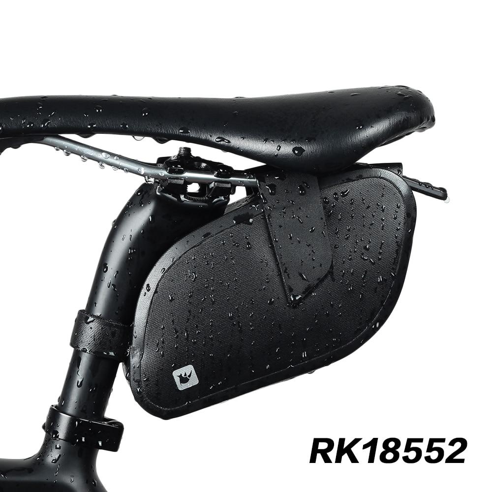 RHINOWALK Waterproof ultralight Bike Bag Bicycle Accessories Saddle Bag Cycling MTB Bike Back Seat Rear rack Bicicleta accessor