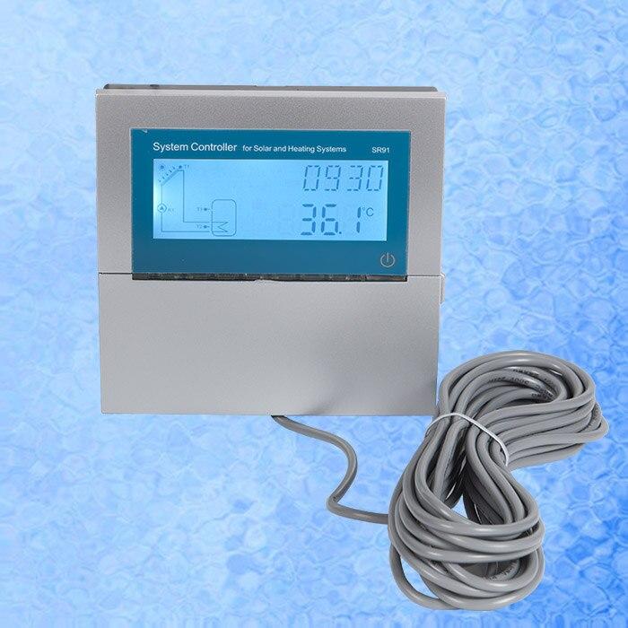 Controlador de sistema de calefacción Solar SR91 versión actualizada de SR868C9
