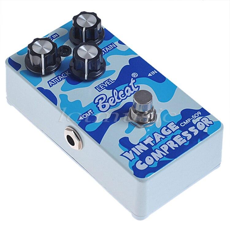 Novo belcat compressor pedal para guitarra