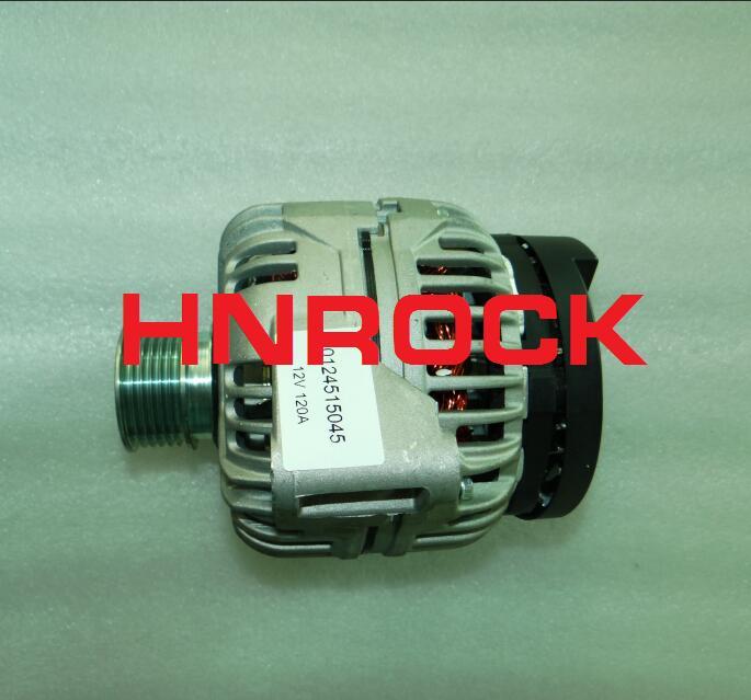 Nuevo HNROCK 12V 120A alternador 0124515045 CA1623IR 0124325045, 437225 de 439299 SG12B027 para MERCEDE-S BEN Z C180 203, 2000, 2001, 2002