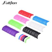 Fulljion 15 개/대 속눈썹 컬링을위한 속눈썹 경기자 교체 패드 높은 탄성 고무 패드 미용 도구 메이크업 교체
