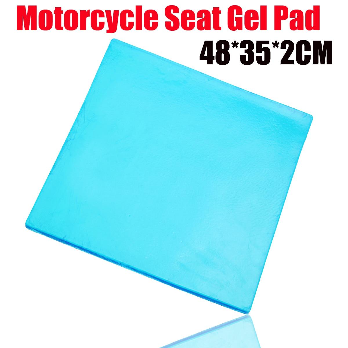 وسادة جل سيليكون معدلة ، افعلها بنفسك ، سمك 2 سنتيمتر ، وسادة مقعد دراجة نارية ، حصيرة مريحة لامتصاص الصدمات ، 48 × 35 سم ، جديد