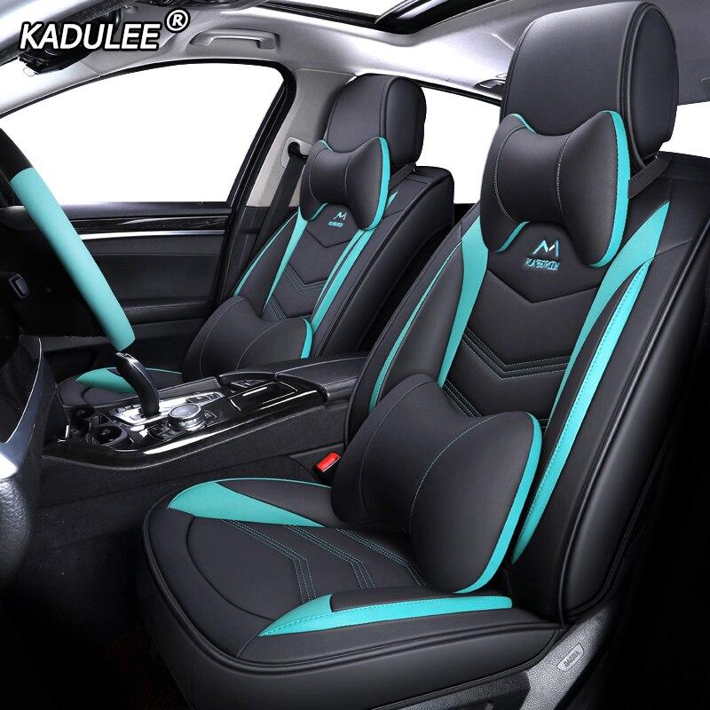KADULEE Leder auto sitz abdeckungen für suzuki baleno jimny swift celerio ignis liana Autos Sitzbezüge auto sitze protector