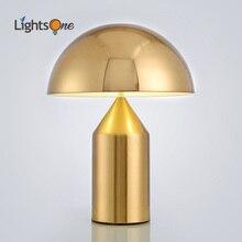 Postmoderne minimaliste lumière chambre étude table lumière nordique personnalité créative champignon lampe de table