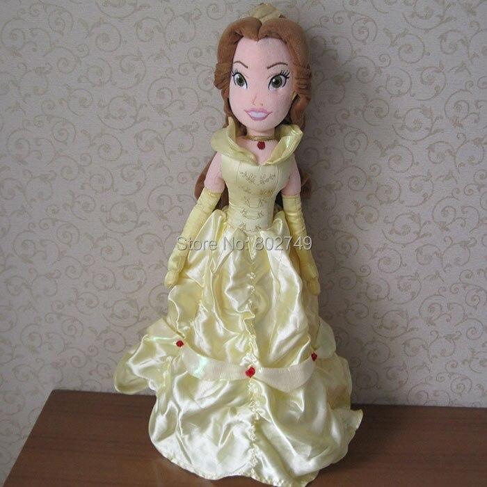 Princesa bella muñeca juguetes de peluche 50 cm belleza y la Bestia bella juguetes de peluche