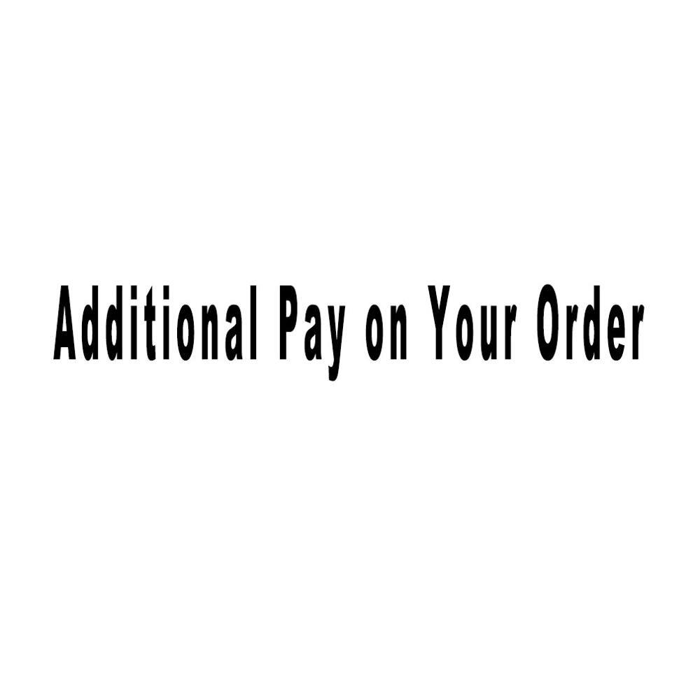 Fajarina 주문에 대한 추가 지불