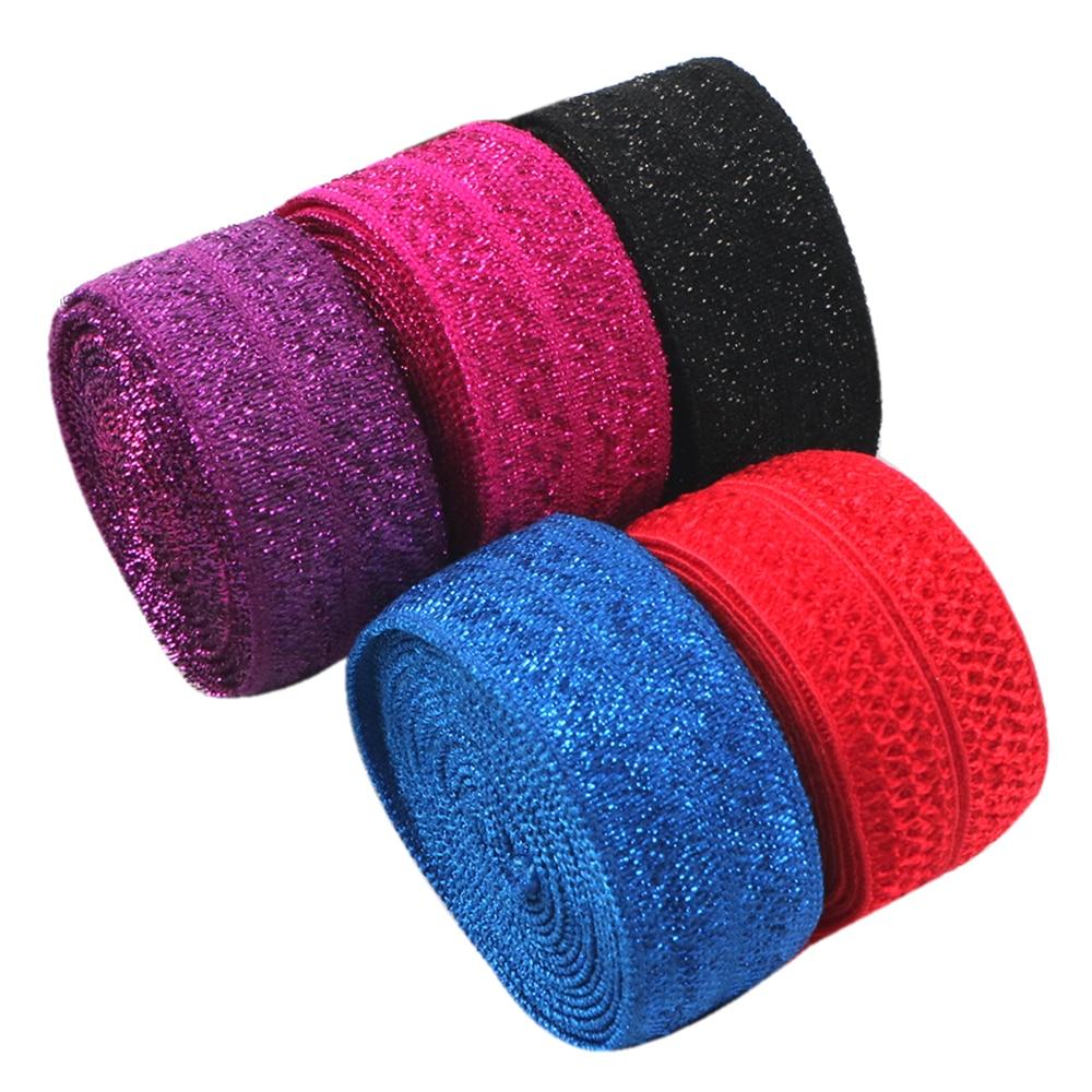 Accesorios David 15mm FOE cinta elástica diy hairbow headwear accesorios de decoración para fiestas, 50Y12117