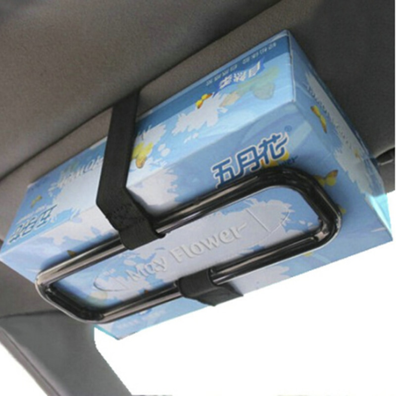 2019 parasol para coche caja de pañuelos de papel para Nissan Teana x-trail Qashqai Livina Tiida Sunny March Murano Geniss Juke