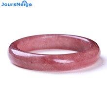 Bracelets en cristal naturel fraise chanceux pour les femmes fille cadeau Bracelets en cristal femmes Vanves bijoux riches JoursNeige