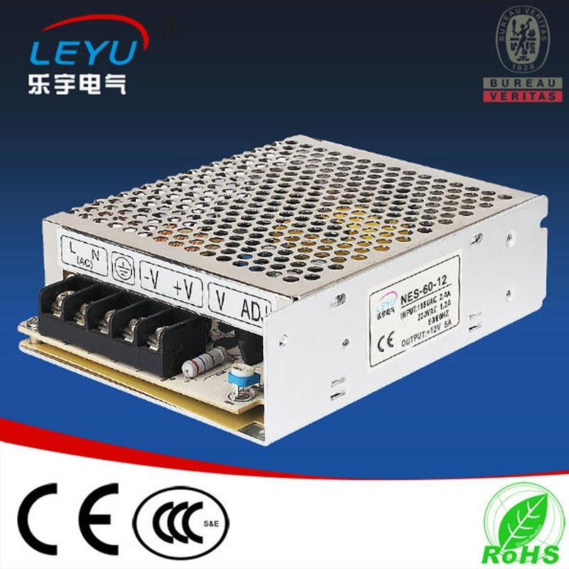 NES-60-48 60 W 48 V a Fuente de alimentación de conmutación de voltaje de rango completo para controlador led