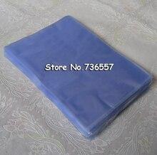 Nouveau 10*15cm souple PVC soufflage thermorétractable sac Film cosmétique emballage emballage matériel 200 pièces
