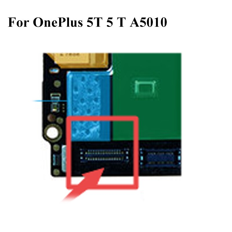 Conector de base para OnePlus5T One plus 5 T, conector Puerto de carga Micro USB FPC para OnePlus 5 T 5 T A5010