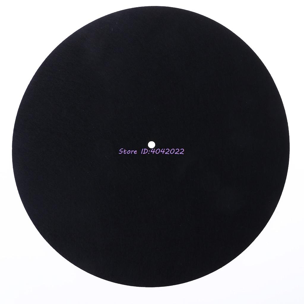 Alfombra giratoria de fieltro slipmat para LP audiófilo de 3mm de espesor para grabación de vinilo LP