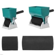 180/320mL Portable main colle applicateur rouleau manuel Gluer pour le travail du bois Damom