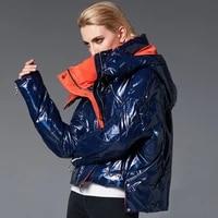 europe winter jackets women 90 white duck down parkas big size colorful light hooded coats warm waterproof snow outwear pj334