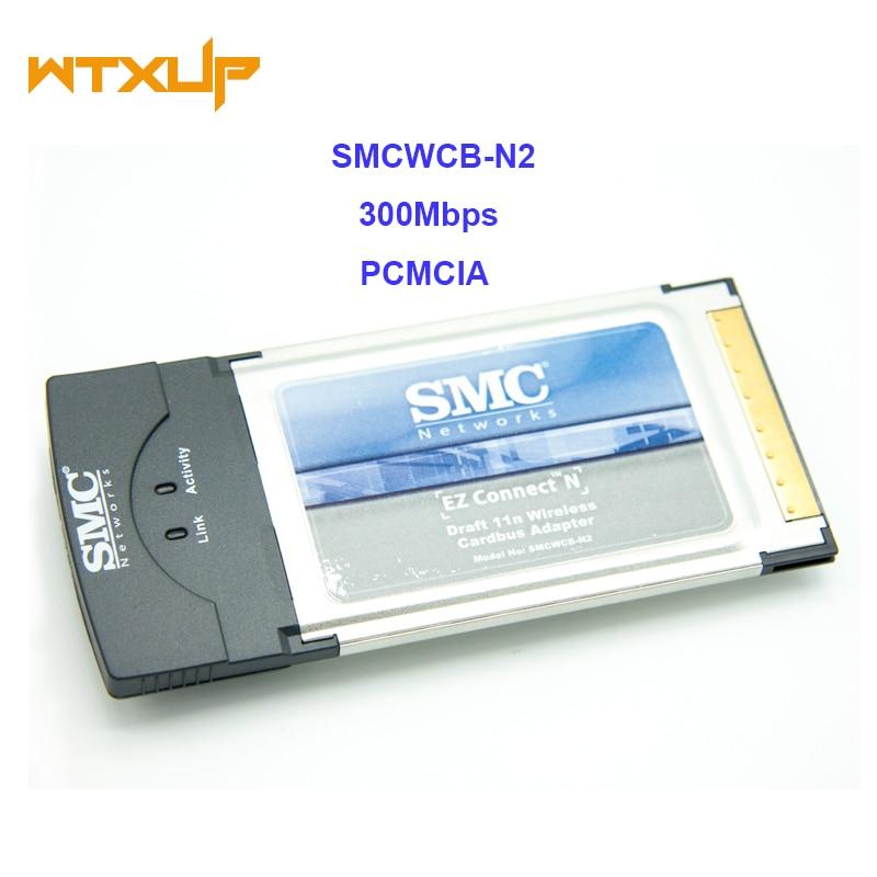 Беспроводной адаптер для карты, 300 Мбит/с, для SMCWCB-N2 EZ Connect N Pro PCMCIA Wifi Wlan карта 2,4 ГГц
