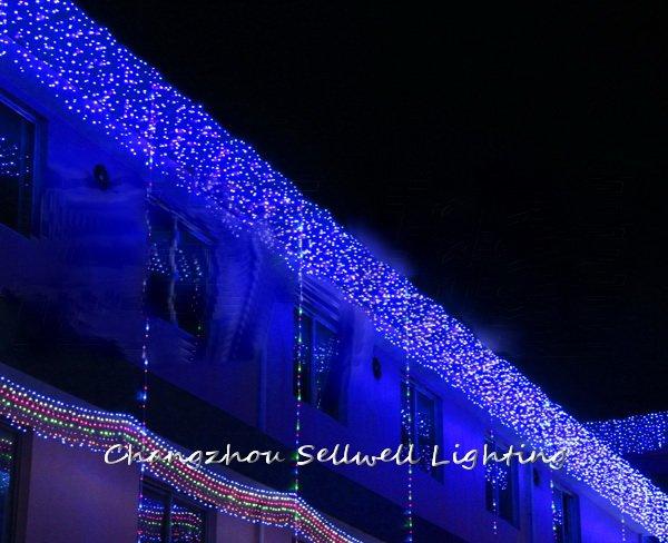 2020 Angebot Zeitlich begrenzte Weihnachten Baum Neue! led Weihnachts Beleuchtung Hof Dekoration 1*6m Led Hintergrund Lampe H199